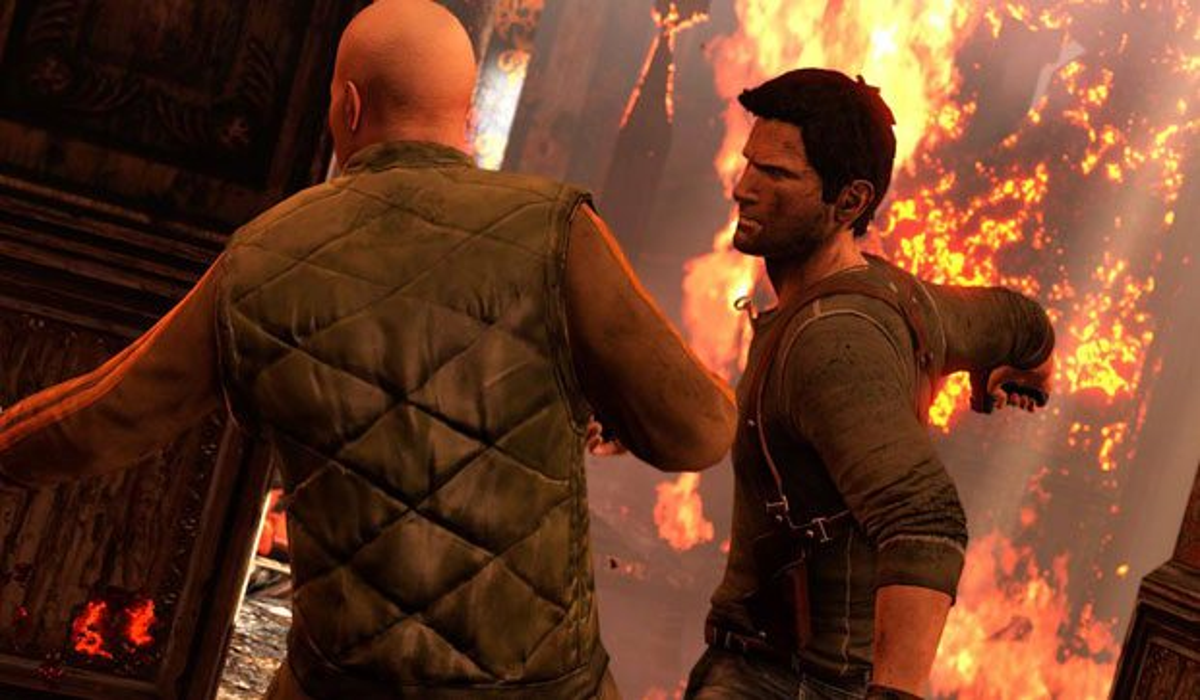 Uncharted 3 Drakes Deception Screenshot