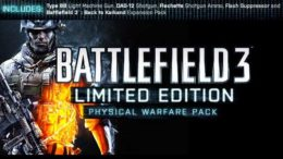 Battlefield 3 To Offer Exclusives to Pre-Order Customers