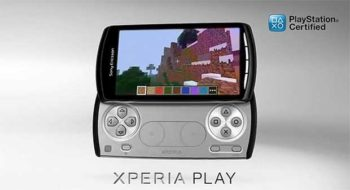 Minecraft on Xperia Play gameplay video