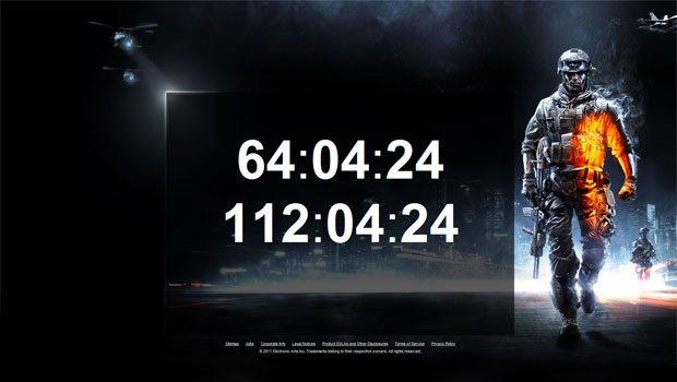 battlefield 3 beta countdown