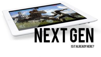 iPad could be the next generation of home consoles