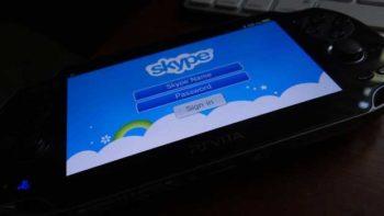 Skype hits the PS Vita