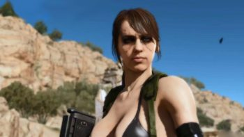 New Metal Gear Solid V footage is focused on Quiet