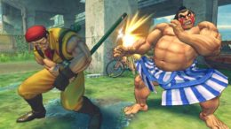 Ultra Street Fighter 4 lets you play as past versions of your favorite fighters