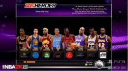 NBA 2K15 On PS3 And Xbox 360 Has 2K Heroes Mode