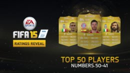 FIFA 15 Top 50 Player Ratings #50-41 Unveiled