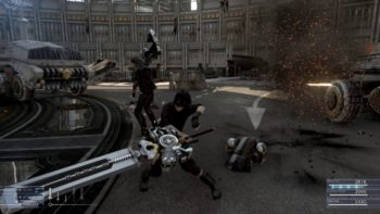 Final Fantasy XV Battle Gameplay Looks Awesome