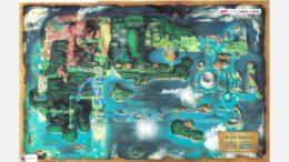 Pokemon Omega Ruby And Alpha Sapphire Hoenn Overworld Map Released