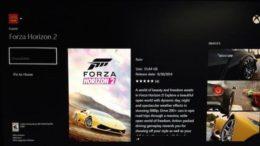 Forza Horizon 2 Listing Seen On Xbox Marketplace