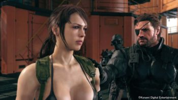 Metal Gear Solid V Screenshots from TGS show a lot of skin