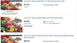 People Paying For Super Smash Bros. 3DS Demo Codes