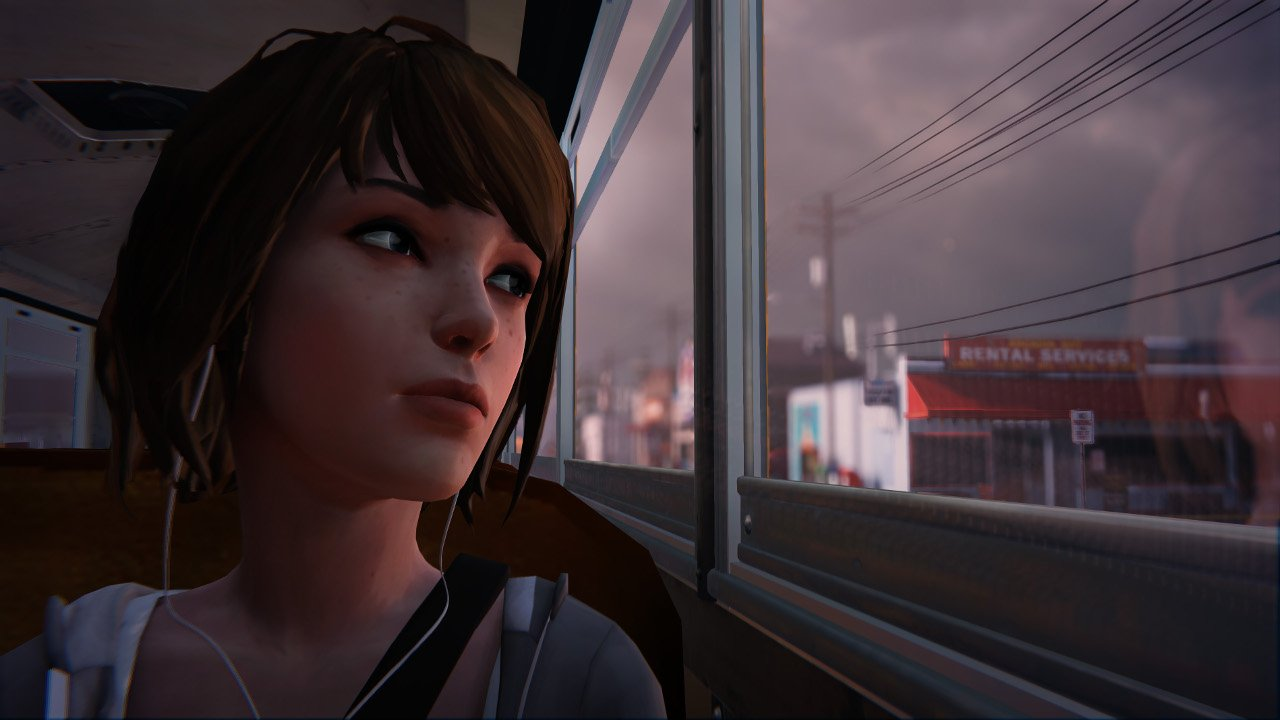 Life is Strange Episode 2 Preview Bus