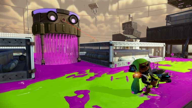 Splatoon Review Single Player