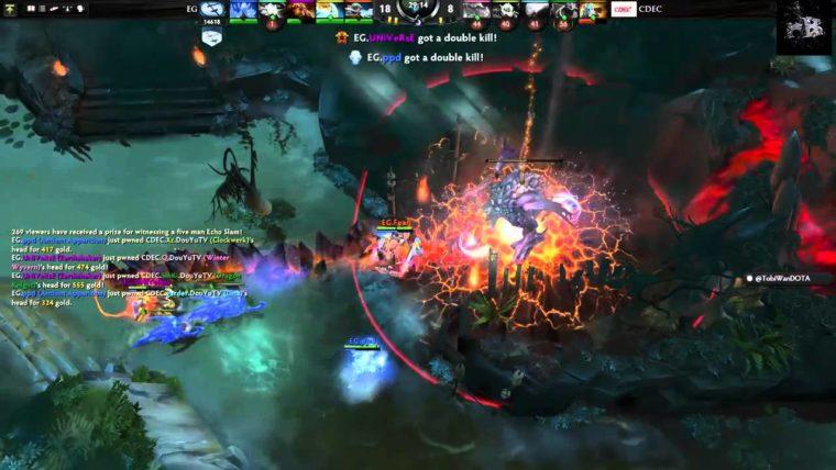 DOTA 2 The International 5 Echo Slam eSports