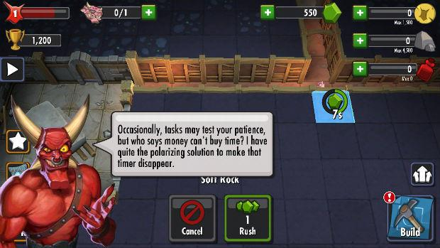 Dungeon Keeper Micro-transactions