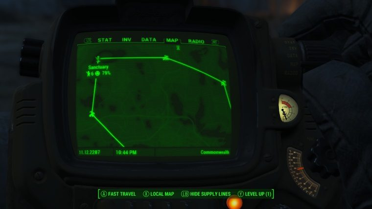 how to enter build mode in fallout 4 xbox