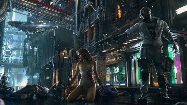 Cyberpunk 2077 late 2016 release