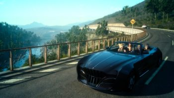 Off-screen Video Of Final Fantasy 15's PlayStation VR Gameplay Emerges