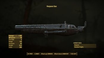 Fallout 4 Far Harbor Guide: Where to Get the Harpoon Gun and More Harpoons