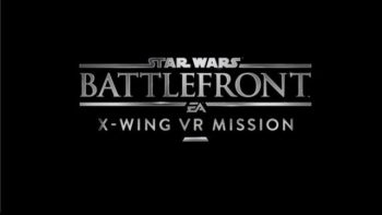 E3 2016: Star Wars Battlefront For PlayStation VR Includes A Space Battle Mission
