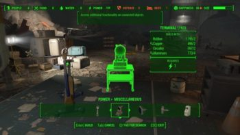 Fallout 4 Vault-Tec Workshop Guide: How to Build and Use a Terminal