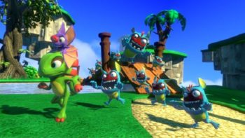 "Yooka-Laylee Goes ""Gold"""