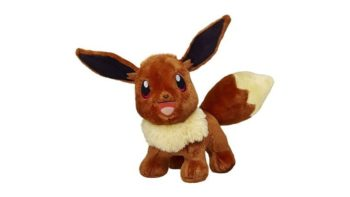 Build-A-Bear Workshop Adds Another Pokemon Plush For You To Make With The Incredibly Cute Eevee
