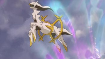 Pokemon Special Event Distribution Arceus Is Now Available At Retailer