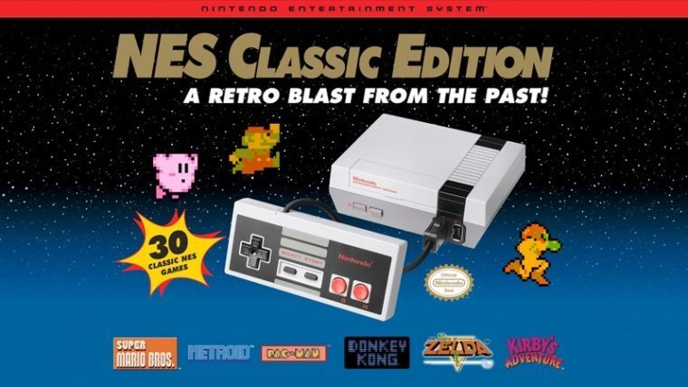 Nintendo Announces NES Mini Production Has Resumed