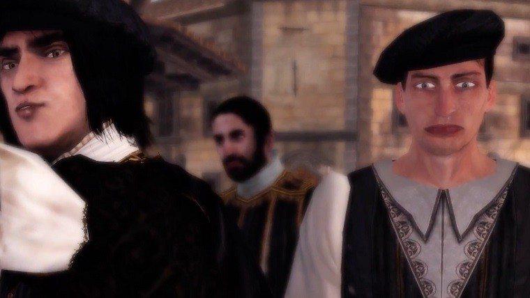 Assassin's Creed weird NPC face patch
