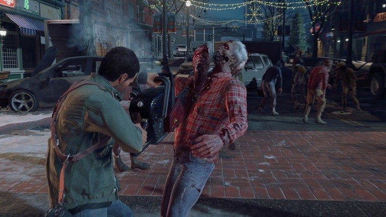 Dead Rising 4 chainsaw