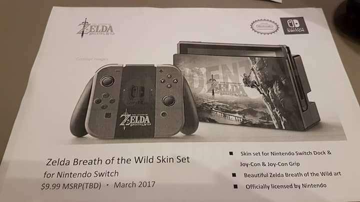 The Legend of Zelda Breath of the Wild Release Leak