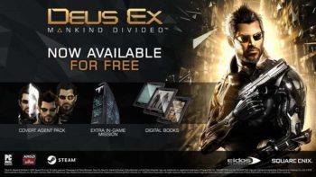 Deus Ex: Mankind Divided Pre-Order Content Is Now Free For Everyone