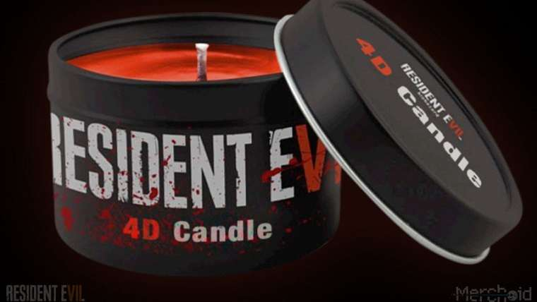 Resident Evil 7 4D Candle