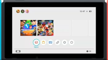 Nintendo Releases New Switch UI Details