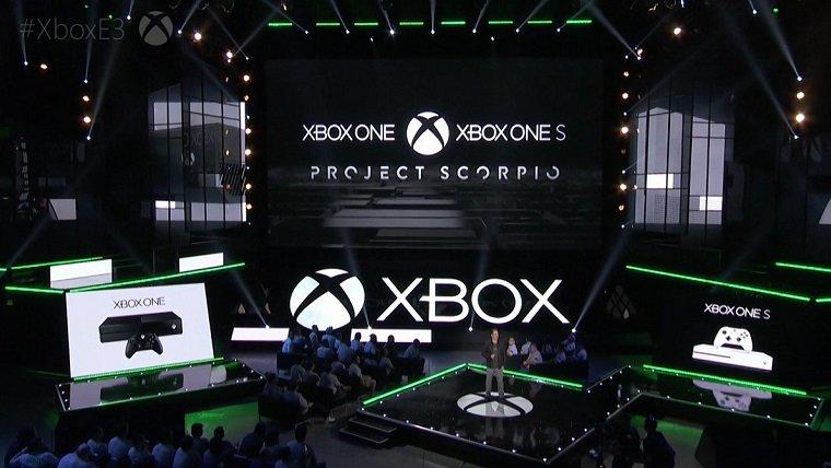 Xbox One Project Scorpio E3 2017