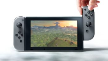 Nintendo Switch Features a 32GB Hard-Drive with Expandable SD Card Support