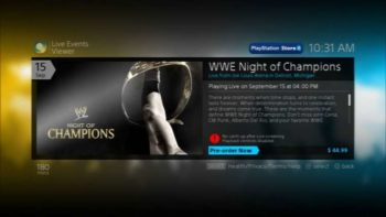 PlayStation Live Events Viewer Is Being Retired, No More Live Events On PS3