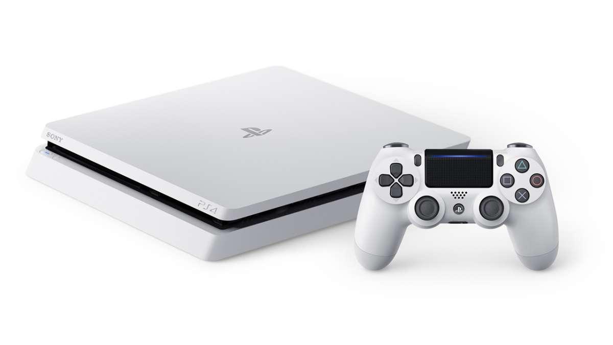 PS4 Slim White 5