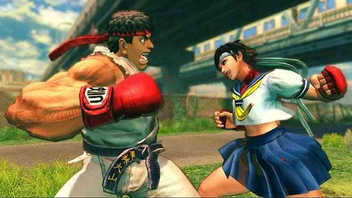 Street Fighter IV backwards compatibility
