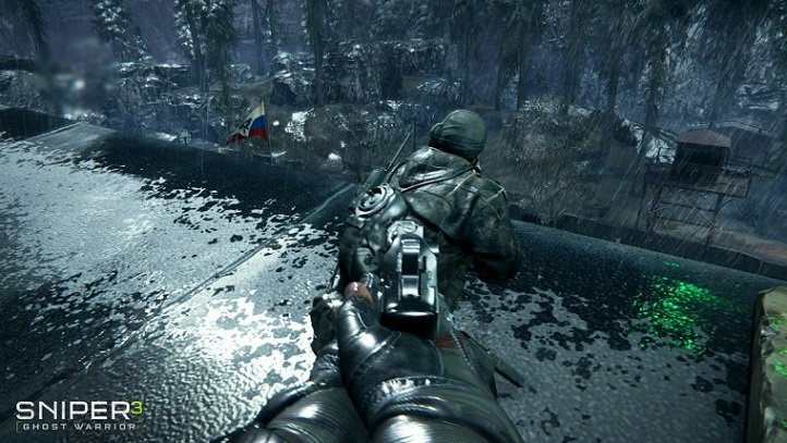 Sniper Ghost Warrior 3 switch to pistol
