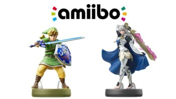 Skyward Sword Link & Corrin Player 2 Amiibo Listings Are Up On Amazon, No Pre-Orders Yet