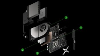 Microsoft Updates Project Scorpio Website With Schematic of Console