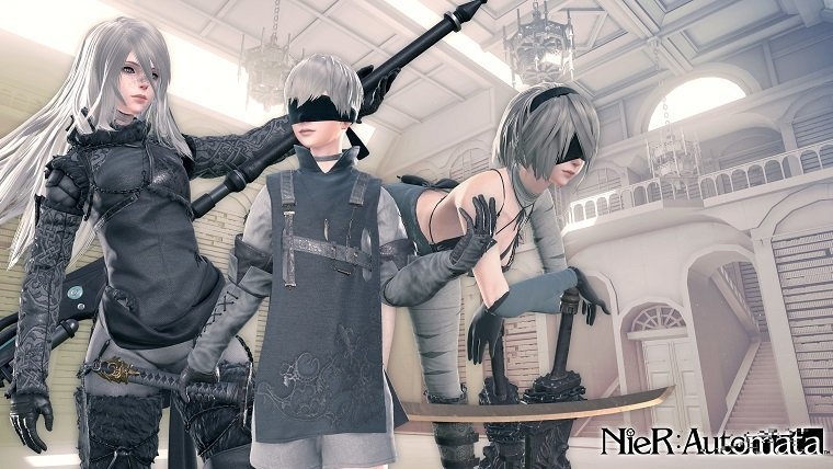 NieR Automata How To Access 3C3C1D119440927 DLC