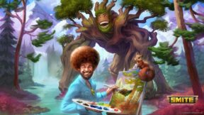 Bob Ross Is Coming To Smite