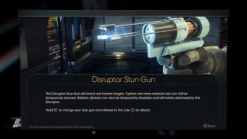 How to Get the Disruptor Stun Gun Early in Prey