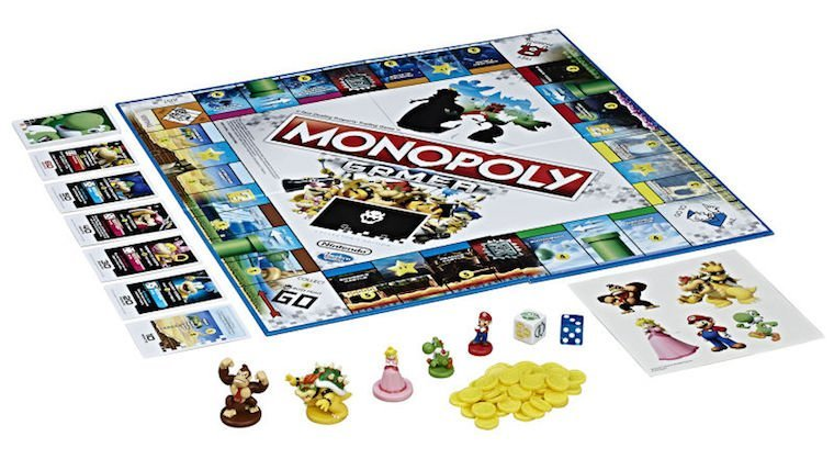 Nintendo & Hasbro Team Up To Bring Monopoly Gamer Edition