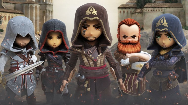 Ubisoft Announces Assassin's Creed Rebellion for Smartphones and Tablets