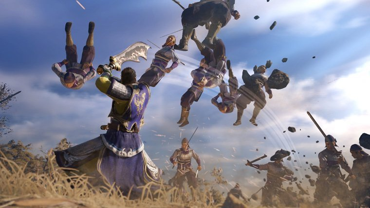 Here's our very first look at Dynasty Warriors 9 class=