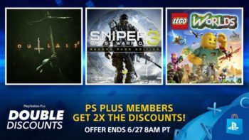 New Double Discounts Sale on PS Store NA and EU